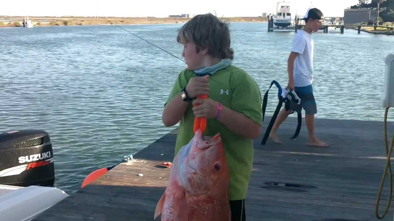 Giant red snapper fishing on packery channel corpus for Best fishing spots in corpus christi