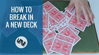 How To Break In A New Deck of Cards [HD]