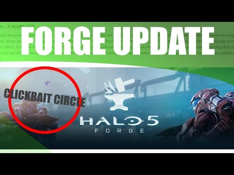 RACE, KOTH, GOLF! : Halo 5 Forge Update Summary