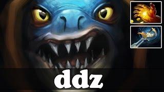 ddz 8400 MMR Plays Slark with Hand of Midas - Dota 2