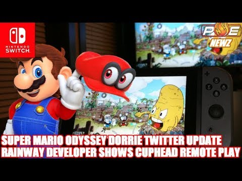 Nintendo Switch - Rainway Shows Cuphead Remote Play, Super Mario Odyssey Update! | PE NewZ