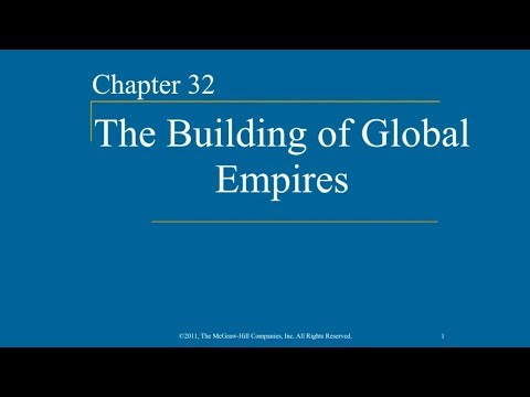 AP World History - Ch. 32 - Building of Global Empires