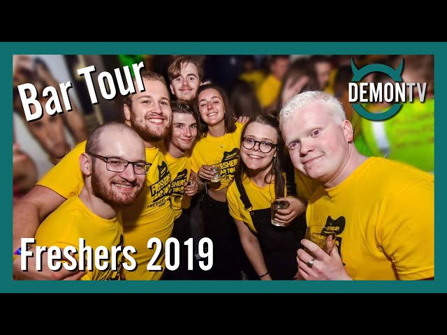 DMU Freshers T-Shirt Bar Tour | DMU Freshers 2019
