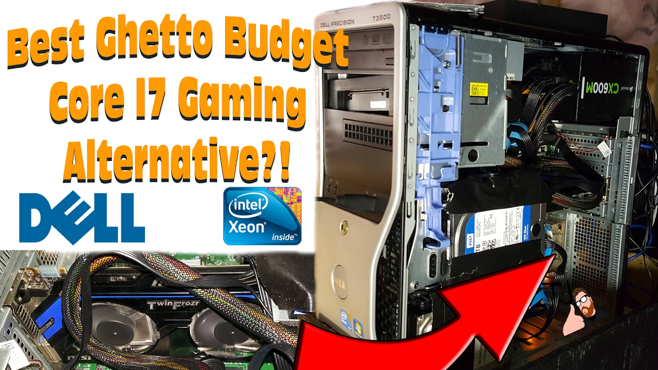 Dell T3500 Xeon Workstation PC, Can it GAME?!