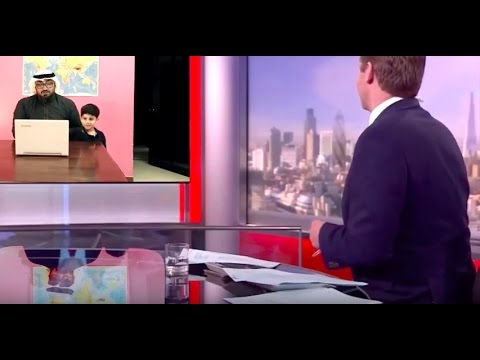 Thumbnail: Arab Dad Interrupted During BBC Interview
