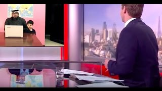 Arab Dad Interrupted During BBC Interview