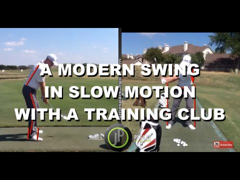 Learn a Modern Golf Swing | With a Training Club