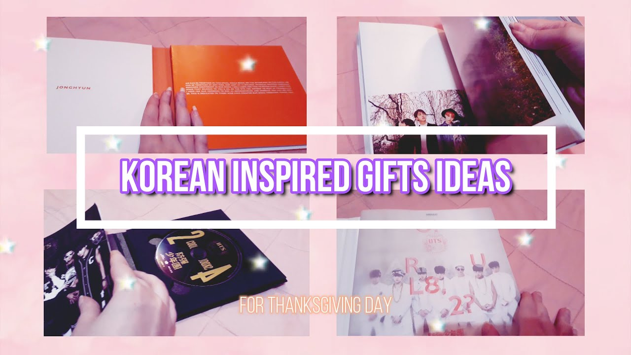 Korean Inspired Gifts Ideas For Thanksgiving Day!