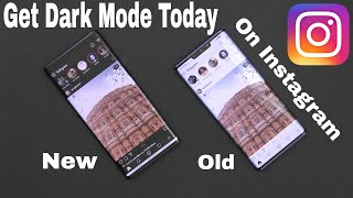 How To Enable/Turn On Instagram Dark/Night Mode/Theme UI On Android Today (No Root Mod Tutorial)
