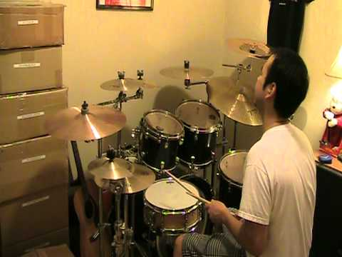 """soft rains of april"" a-ha(drum cover)"