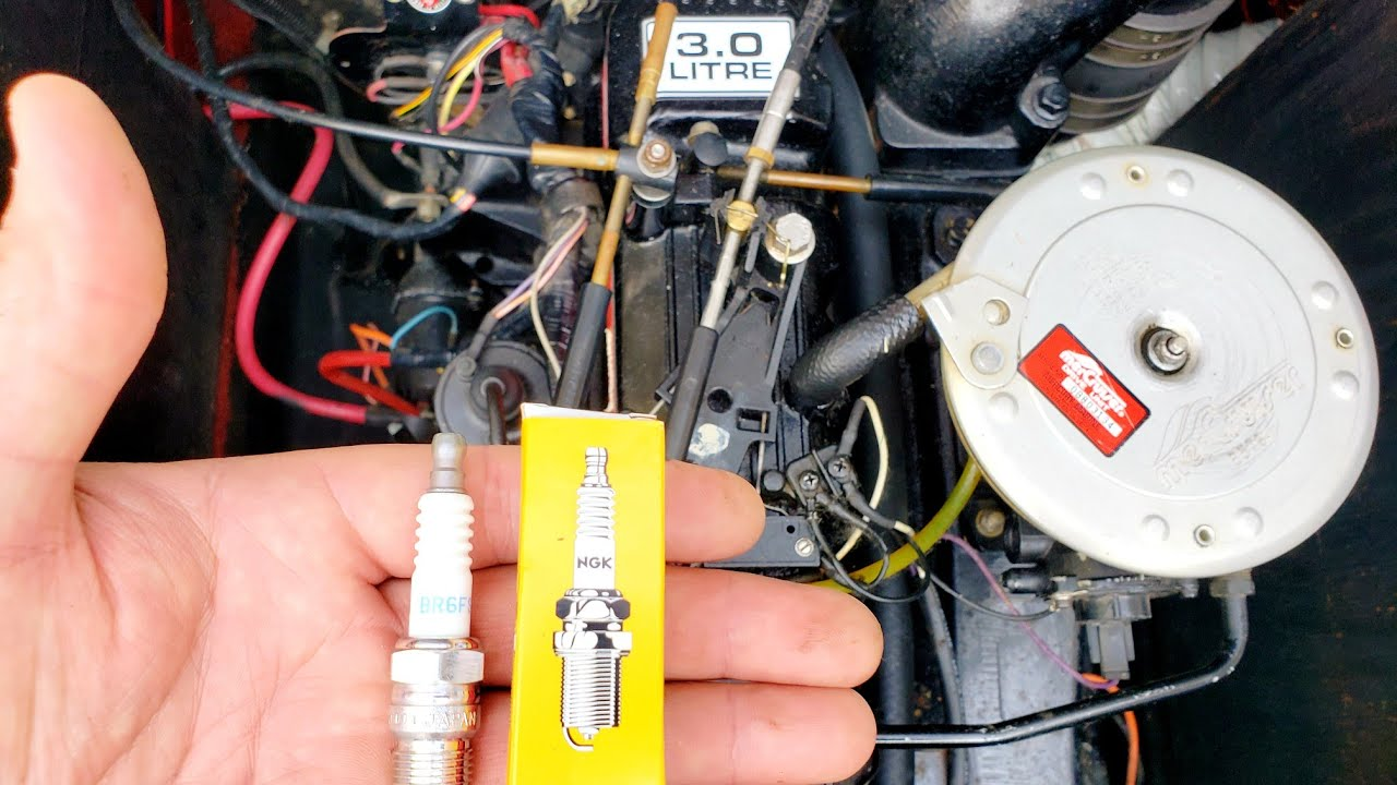 medium resolution of changing mercruiser spark plugs super easy