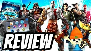 Playstation All-Stars Battle Royale Playstation Vita REVIEW (PS VITA) HD Gameplay