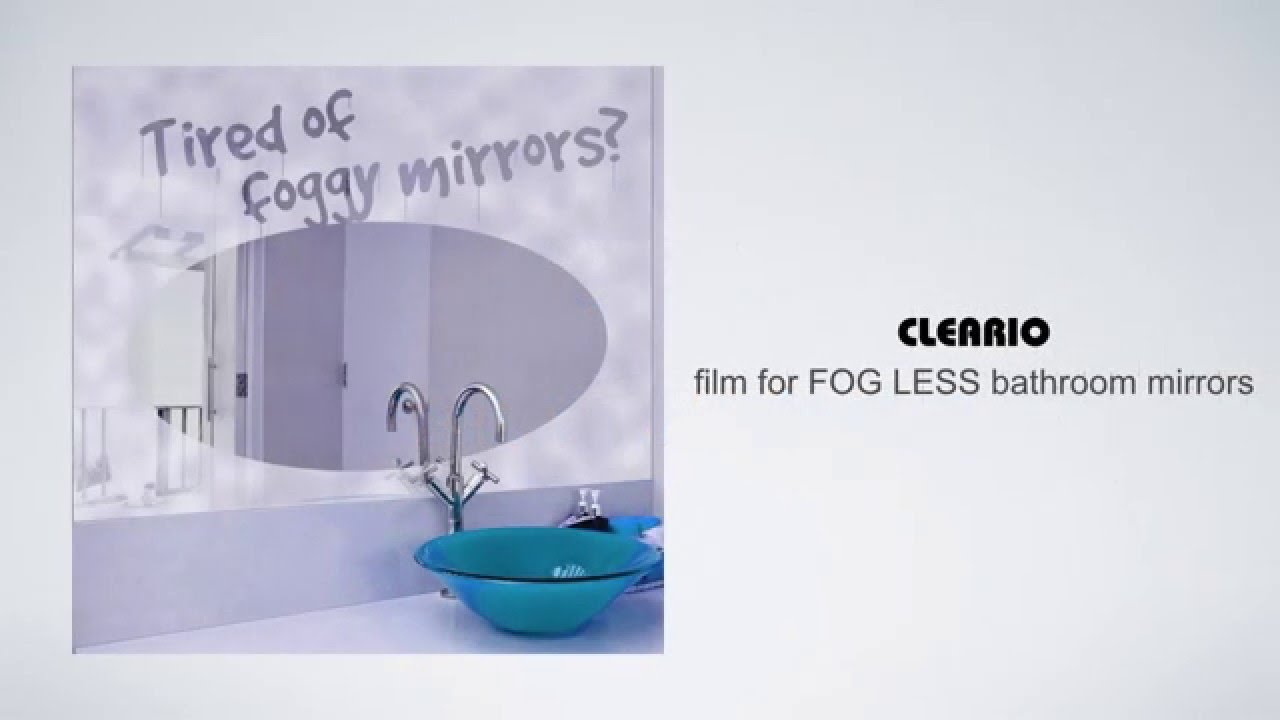Cleario   Bathroom Mirror Defogger