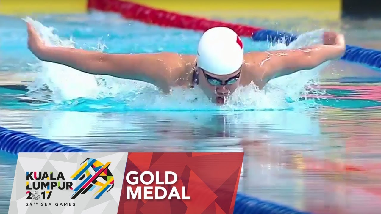 Swimming Finals Womens' 400m individual medley | 29th SEA ...