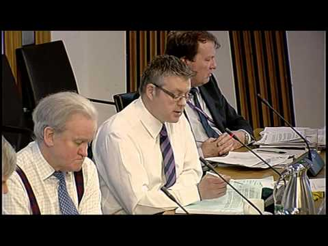 Delegated Powers and Law Reform Committee - Scottish Parliament: 22nd April 2014