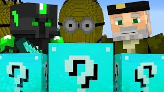 DESASTROSO!! c/ sTaXx | Lucky Blocks Epic Race