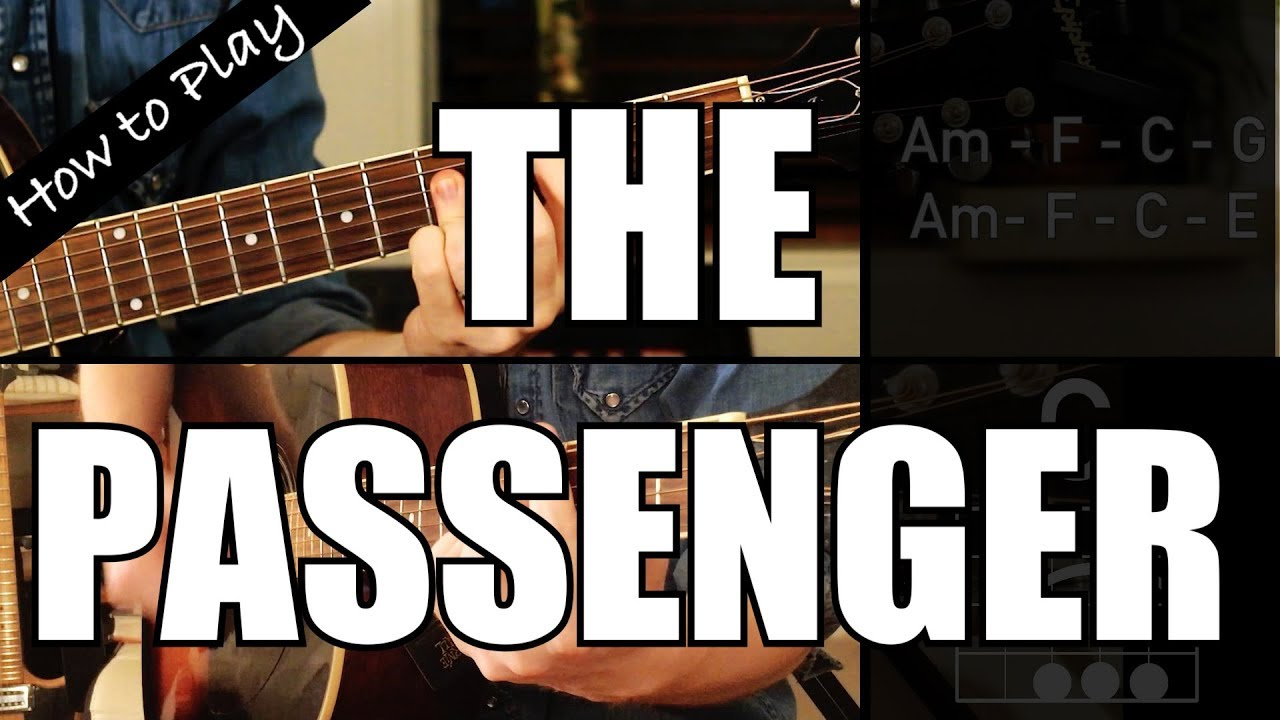 How To Play The Passenger Iggy Pop Guitar Chords Youtube