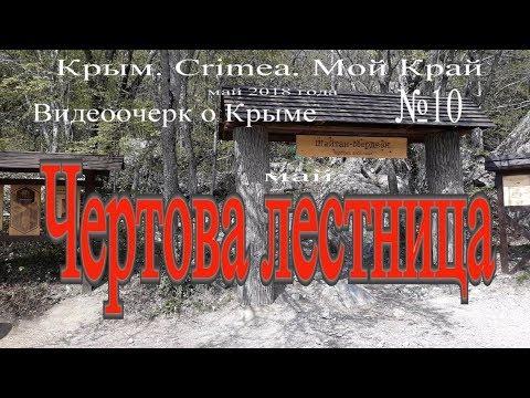 Крым. Ялта. Чертова лестница