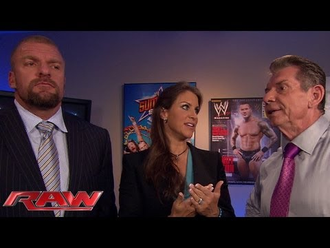 Stephanie McMahon suggests Daniel Bryan undergo a makeover: Raw, July 29, 2013 thumbnail