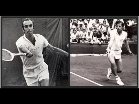 Jan Kodes vs Andrés Gimeno.Grand Prix 1972.1/4 final.CT Chamartín.Madrid(Spain)