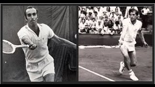 Jan Kodes vs Andrés Gimeno.Grand Prix 1972.1/4 final.CT Chamartín.Madrid(Spain)