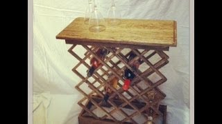 Wine Rack From A Pallet Pt 2
