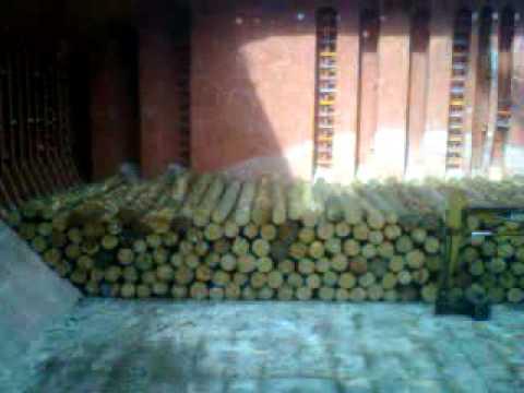 Loading a Log Vessel 3/3