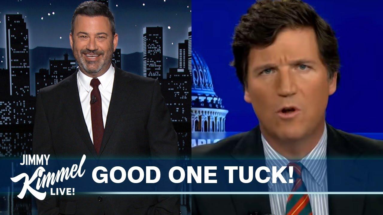 Soppy Bag of Phlegm Tucker Carlson Mocks Biden, Trump Botched COVID Response & Coffin Photoshoots!