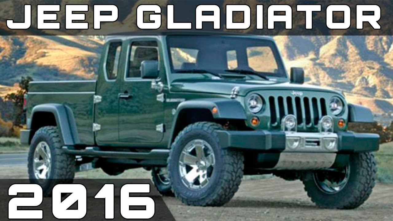 2016 Jeep Pickup >> 2016 JEEP GLADIATOR REVIEW - YouTube