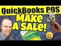 QuickBooks POS Make A Sale - How to make a sale in QuickBooks Point of Sale
