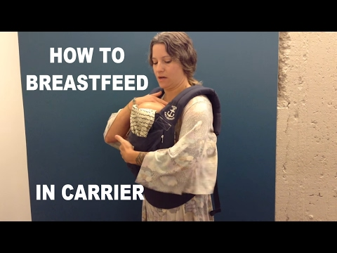 How Do I Breastfeed in Baby Carrier? | Original | Ergobaby