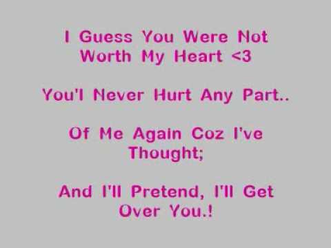 Dj Jay - I'll Get Over You [Lyrics]