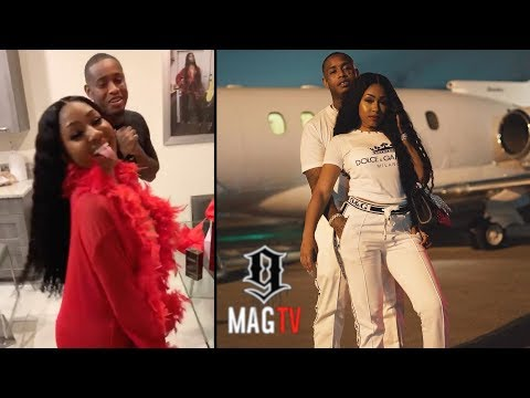 Yung Miami Got 'Flewed Out' To Jamaica By Boyfriend Southside! ✈️