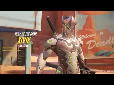 Genji Reflect Play of the Game[Dealing with double Bastion]