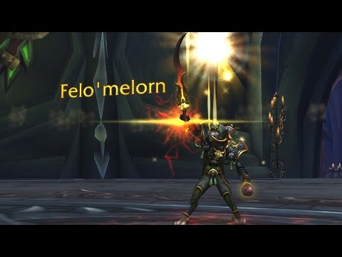 The Story of  Felo'melorn ft. PreachGaming [Artifact Lore]