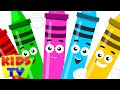 Five Little Crayons Color Song Learn Colors Nursery Rhymes Kids Tv Nursery Rhymes mp3
