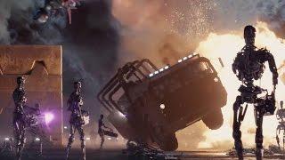 TERMINATOR GENISYS - Movie Clip 'Opening Battle' (2015) Arnold Schwarzenegger Action Movie [1080p]