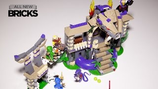 Lego Ninjago 70749 Enter The Serpent Speed Build Review