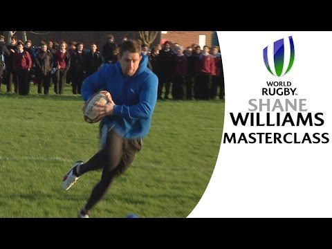 Shane Williams' stepping MASTERCLASS!