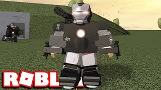 BUYING THE WAR MACHINE SUIT GAMEPLAY | Roblox Iron Man Battles