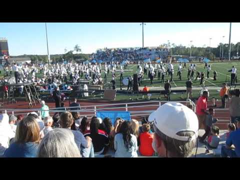 Mississippi Gulf Coast Community College Band of Gold video 1 Oct. 22, 2016