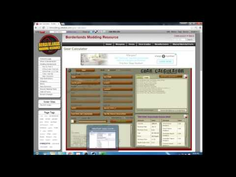 How to use Borderlands Willow tree and gear calculator - YouTube