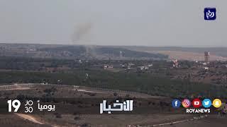 الجيش السوري مقتل عسكريين اثنين بغارات للاحتلال قرب حماة - (7-9-2017)