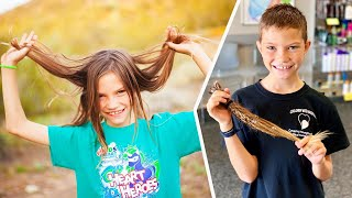 Download Why This 9-Year-Old Is Ignoring Bullies to Grow Hair Long Mp3 and Videos