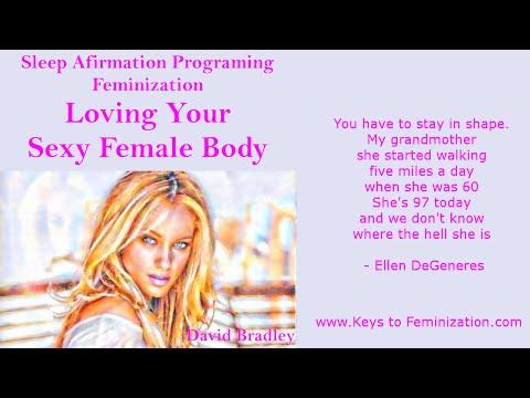 Sleep Porgraming Affirmations: Feminization -  Loving Your Sexy Female Body