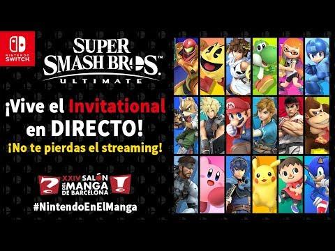 Super Smash Bros. Ultimate - Invitational individual en el Salón del Manga (Nintendo Switch) thumbnail