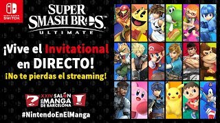 Super Smash Bros. Ultimate - Invitational individual en el Salón del Manga (Nintendo Switch)