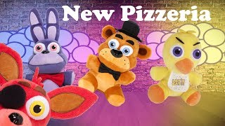 Fnaf Plush - The New Pizzeria!!