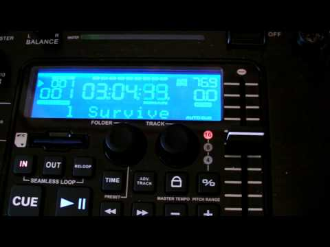 Q-SD record  from American Audio  Magic with the Pro Mp3 Player