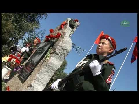 В городе Шумиха Курганской области на Аллее Славы открыт памятник бойцам локальных войн